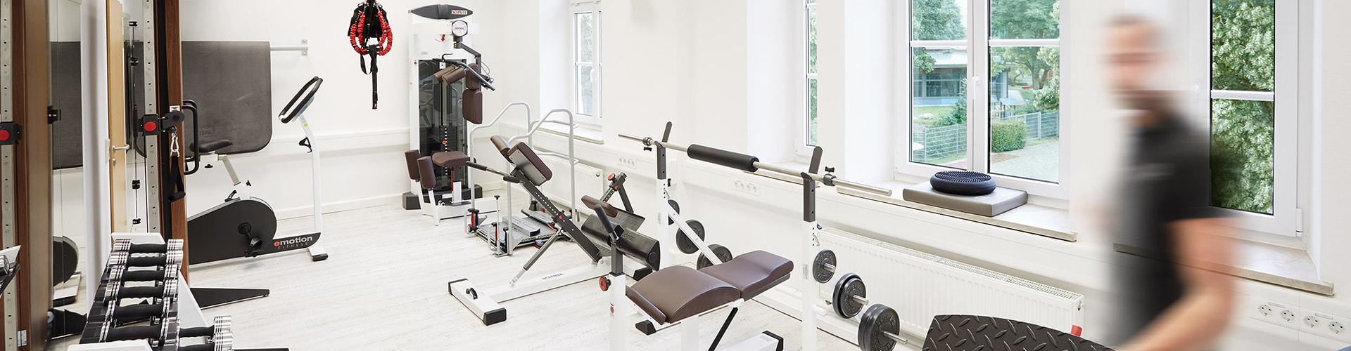 Praxis Physio Krankengymnastik Trainingsraum