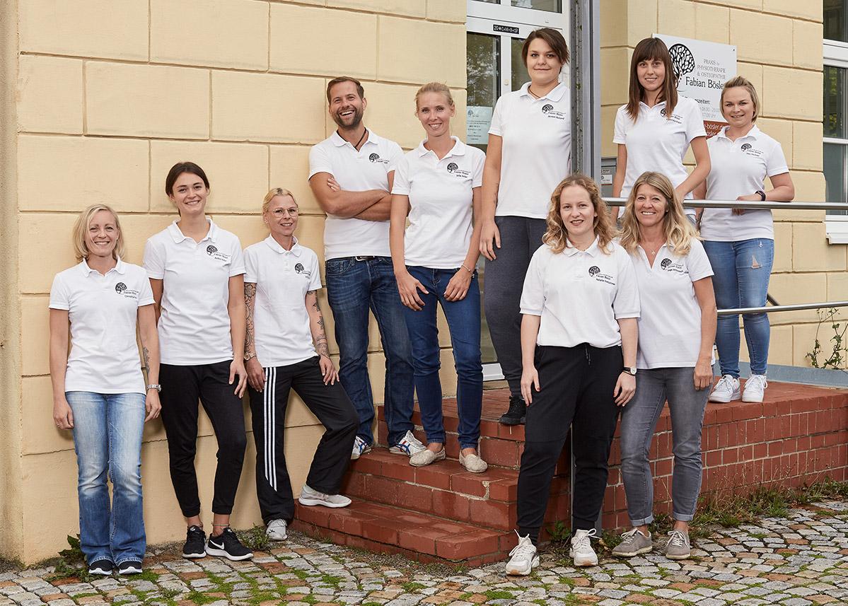 Praxis Team - Physiotherapie Bösler Untermeitingen